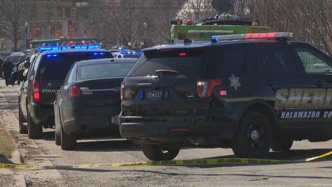 Male officer shot, hospitalized in Michigan