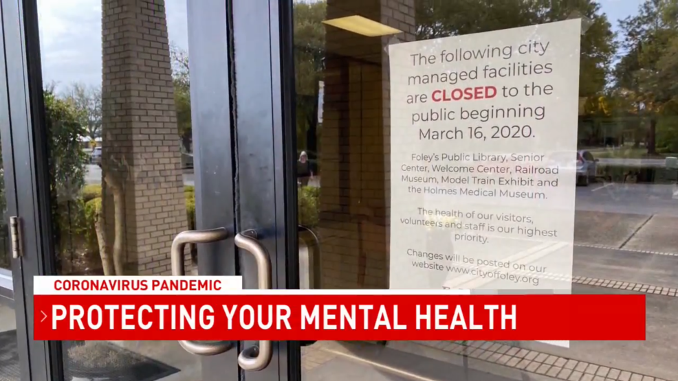 Baldwin County Mental Health Experts Coronavirus Concerns Could Cause Anxiety Depression Wpmi