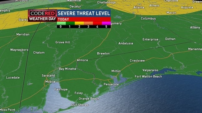 Tracking Monday's Weathermaker with Rain, Thunder   WPMI
