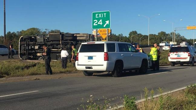 Police chase involving ambulance ends on I-10 | WPMI