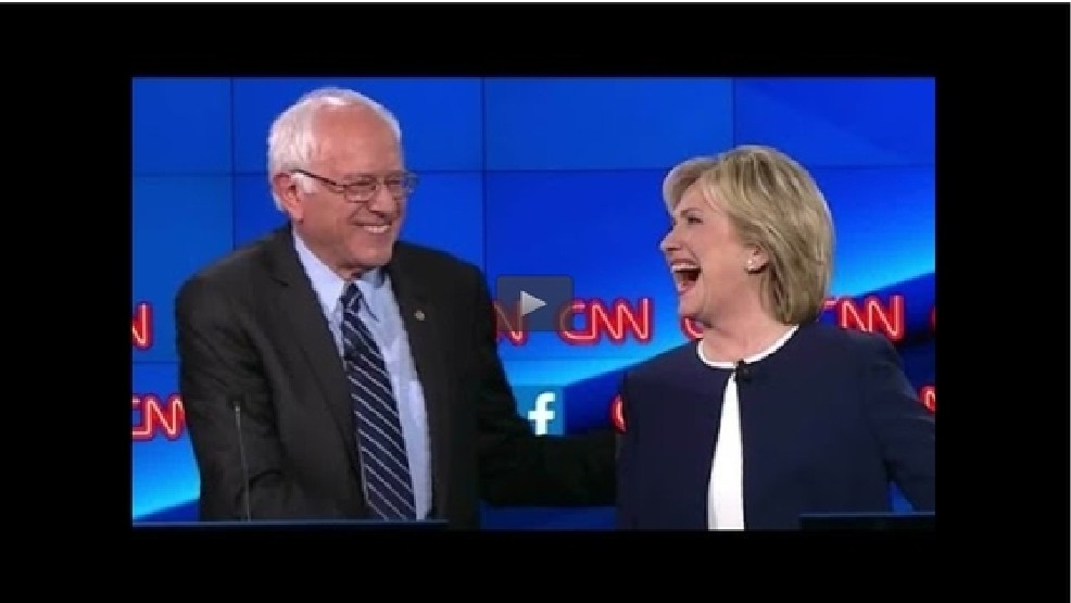 Debate: Clinton talks email controversy, Sanders says people