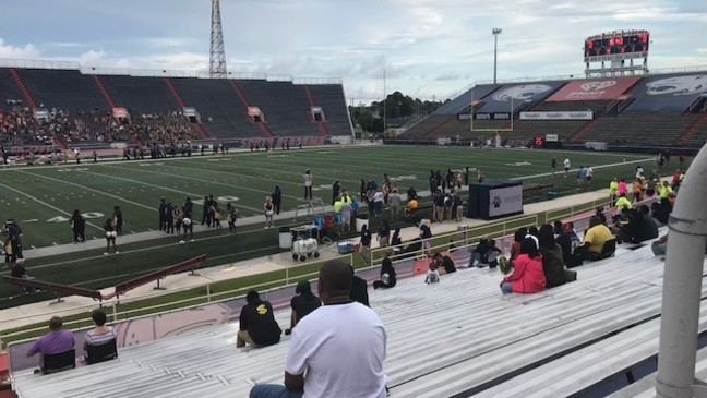 Security in full effect at local high school football games