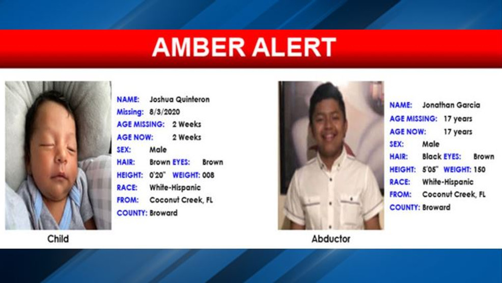2 Week Old Boy From Florida Found After Amber Alert Suspect In Custody Wpmi
