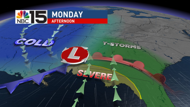 CODE RED WEATHER ALERT Monday | WPMI